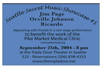 Seattle Secret Music Showcase 1